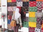 Batik Karya Siswa SMK Negeri 5 Yogyakarta