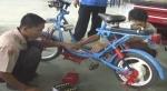 Sepeda Listrik Karya Siswa SMK 2 Surakarta, Jawa Tengah